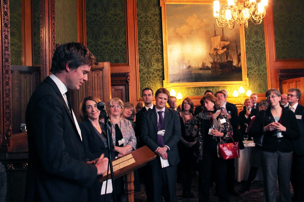 Tristram Hunt MP and guests