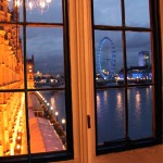 View of the Thames from the River Room
