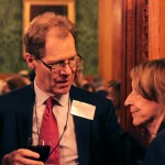 Information Commissioner Christopher Graham with Baroness Pitkeatkley