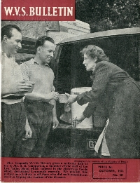 Image from the digitised archive of the WVS bulletin, courtesy of the RVS archive
