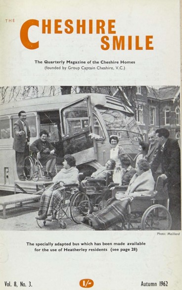 Front cover of the Cheshire Smile magazine 1962